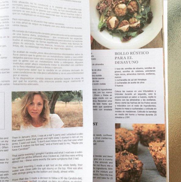 Tanja Ting in Passion magazine