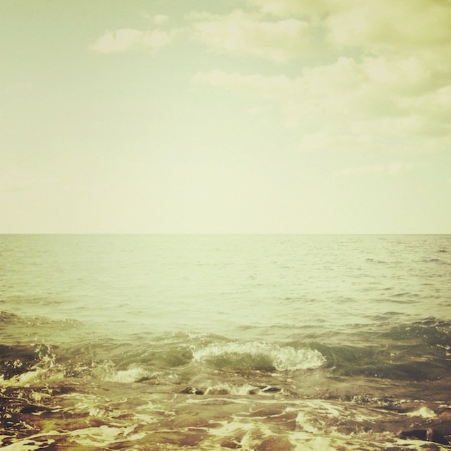 Dancing sea by Tanja Ting