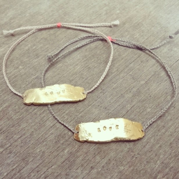Love bracelets by Tanja Ting