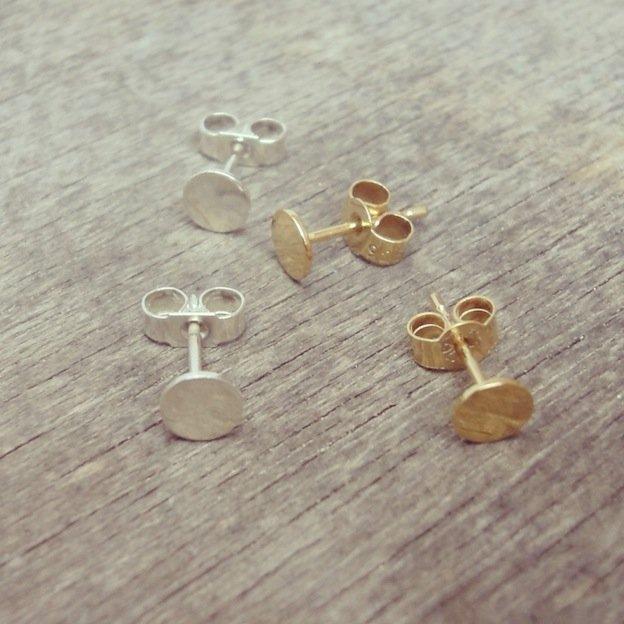 earrings by Tanja Ting