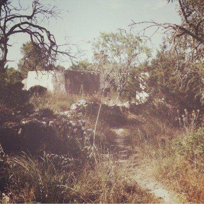 Ibiza ruin by Tanja Ting