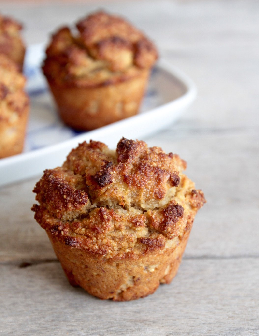 Banana muffin by Tanja Ting-Pure Goodness