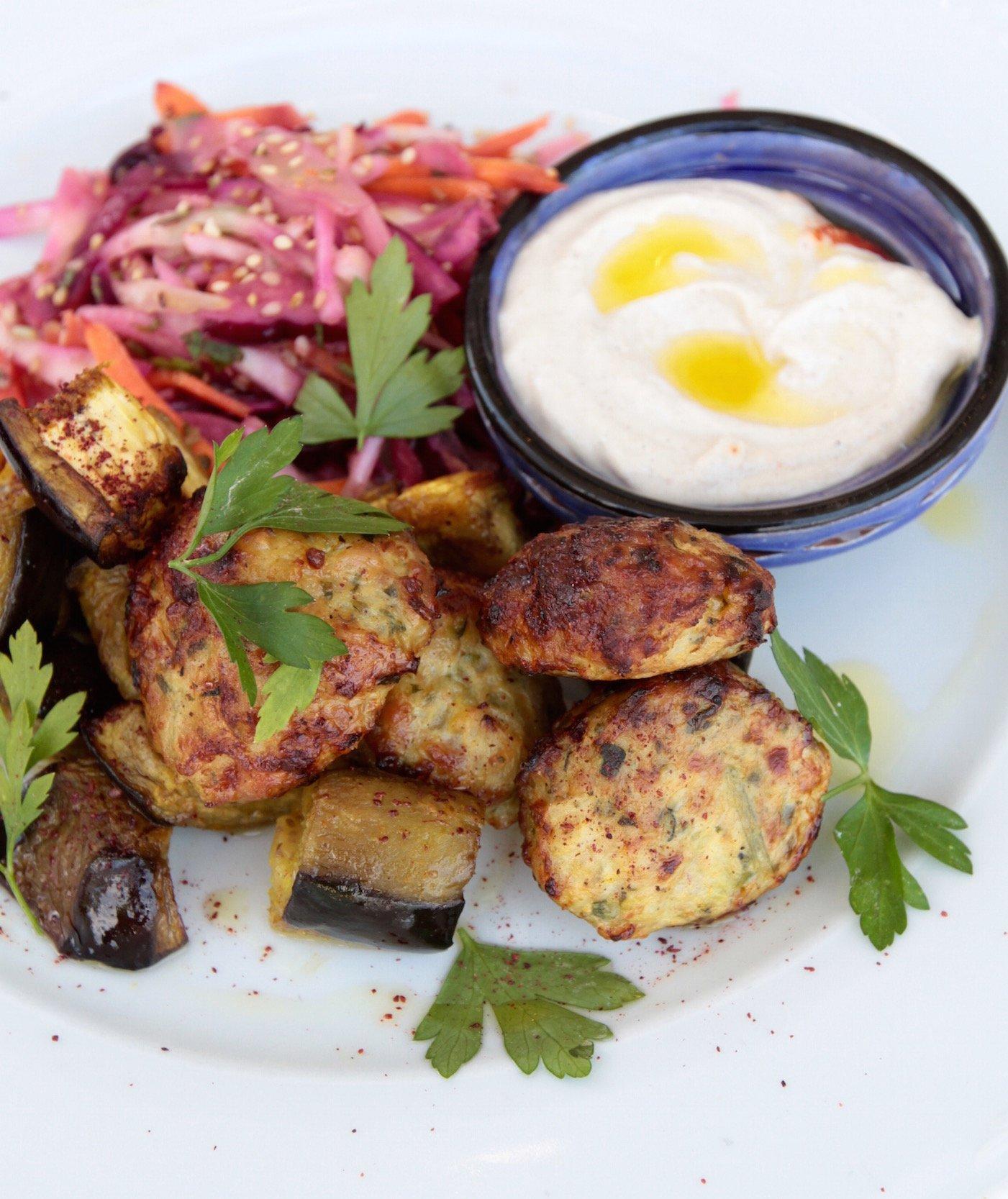 Chicken zucchini balls by Tanja Ting-Pure Goodness